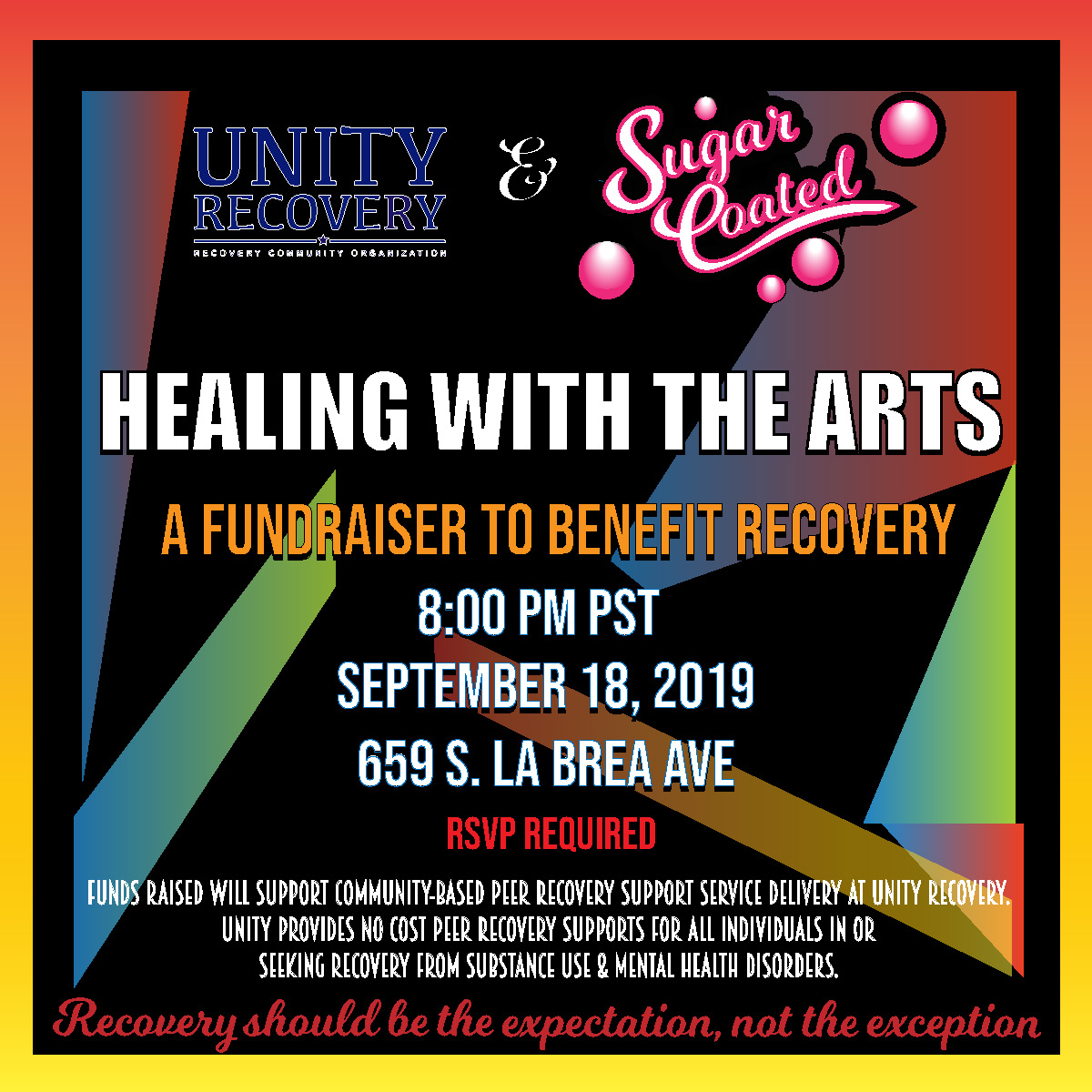 Healing with the arts logo